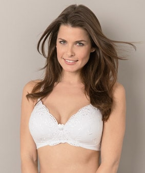 Damart Padded Cotton Bra